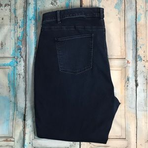 Talbots flawless 5-pocket straight jeans Size 22WP